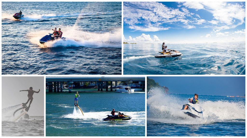 jet ski & flyboard